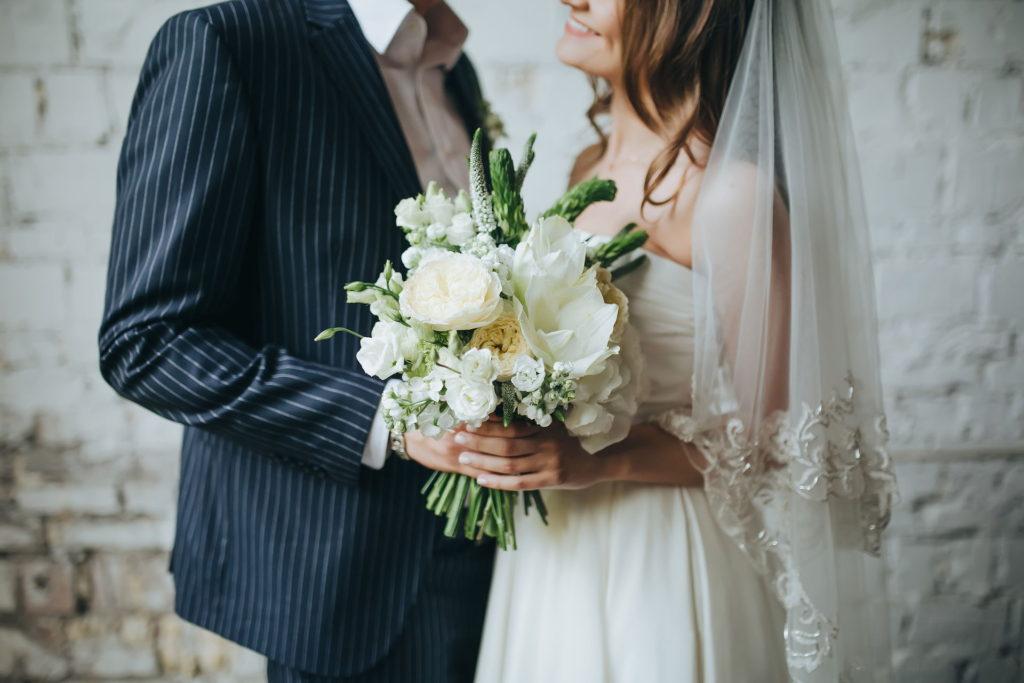 Bukiet ślubny z trawą blog robimyfilm
