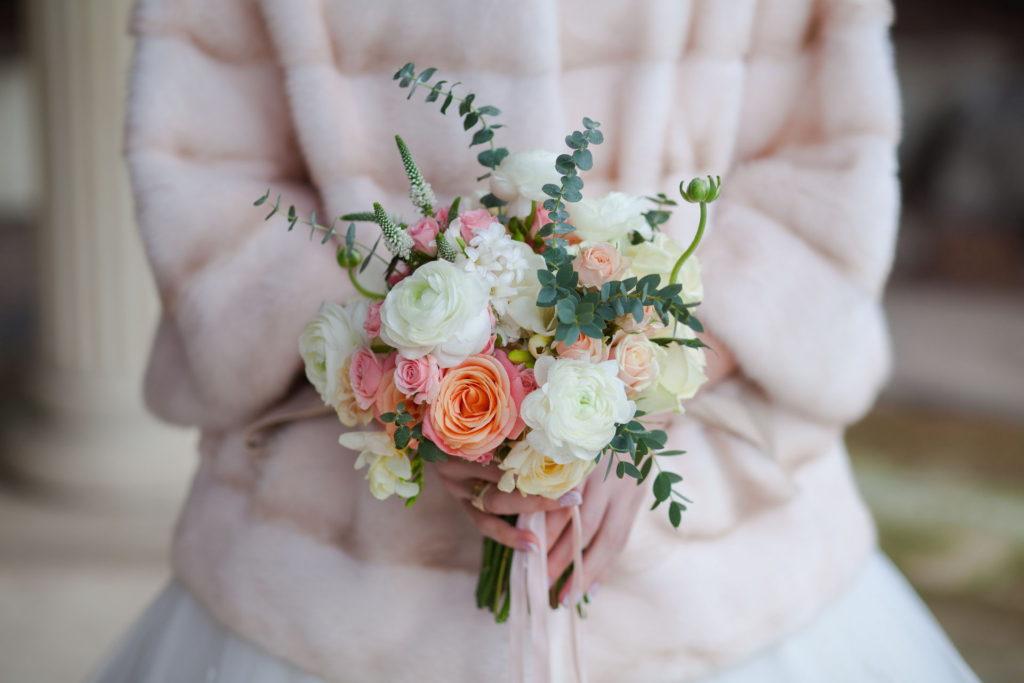 Bukiet ślubny pastelowy blog robimyfilm
