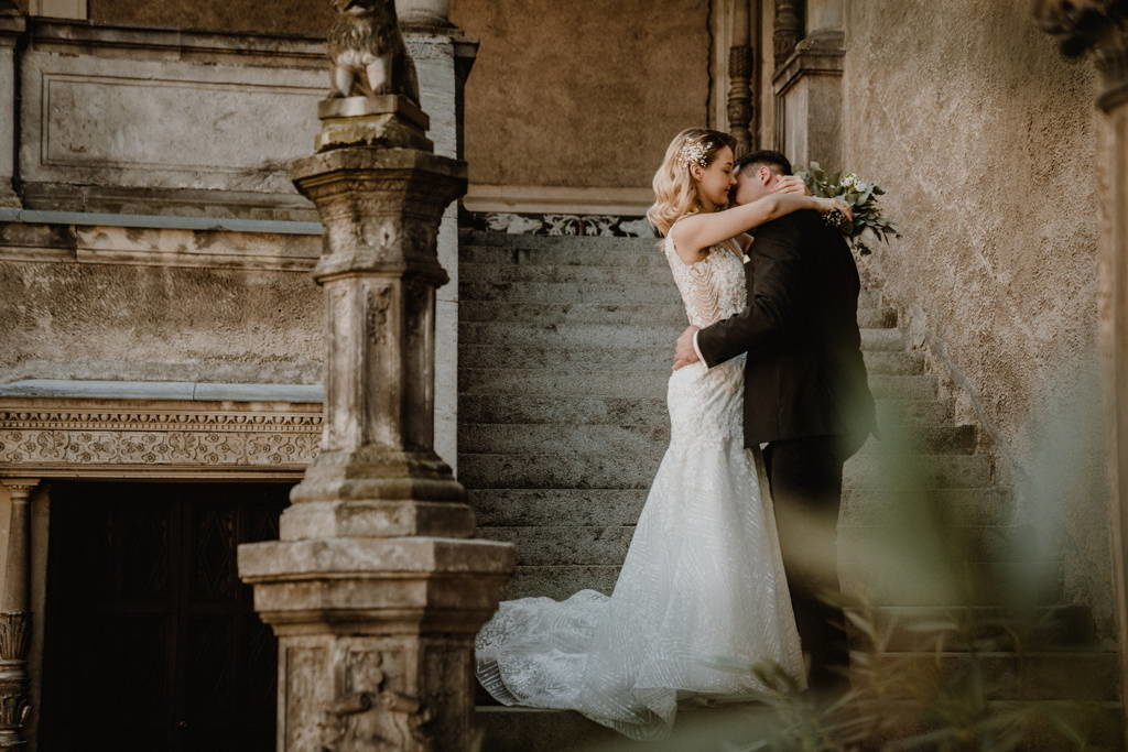 Sesja ślubna na Zamku w Gołuchowie