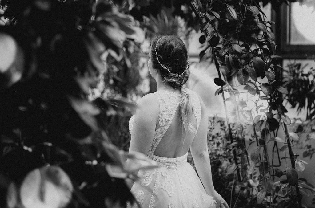 Sesja poślubna w tropikalnym klimacie | Łódzka Palmiarnia