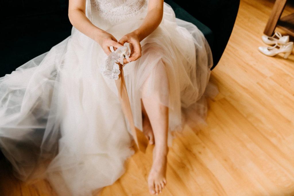 Przygotowania do ślubu w domu młodej