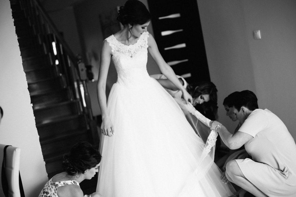 Przygotowania do ślubu wesela