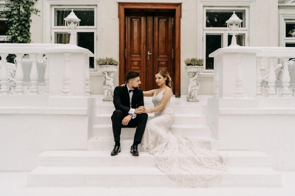 Wesele i Sesja Ślubna w Pałacu Pstrokonie