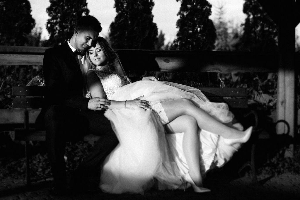 Mini sesja Ślubna w dniu wesela